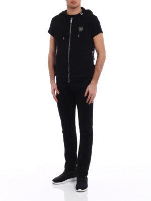 Philipp Plein: Sweatshirts & Sweaters online - Ready sleeveless hoodie