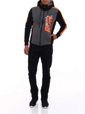 Philipp Plein: Sweatshirts & Sweaters online - Run hooded sweat jacket