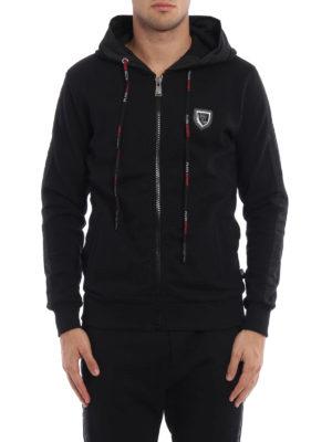 Philipp Plein: Sweatshirts & Sweaters online - Rush zipped hoodie