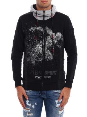 Philipp Plein: Sweatshirts & Sweaters online - Silver Plein Sport hoodie