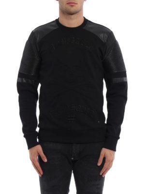 Philipp Plein: Sweatshirts & Sweaters online - Tsu-mi biker style sweatshirt