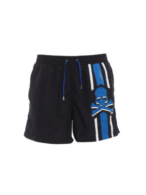 Philipp Plein: Swim shorts & swimming trunks - Me Now nylon swim shorts