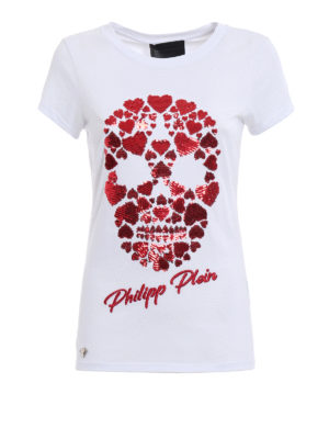 Philipp Plein: t-shirts - Albany Love T-shirt