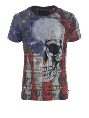 Philipp Plein: t-shirts - All over printed T-shirt