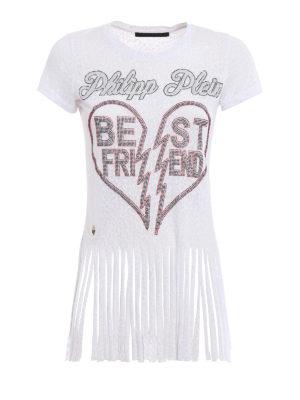 Philipp Plein: t-shirts - Balinay Jap T-shirt