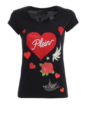 Philipp Plein: t-shirts - Balinay Prussian T-shirt