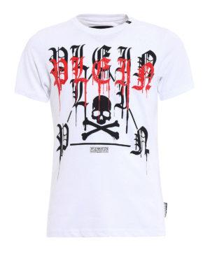 Philipp Plein: t-shirts - Fancy white Tee