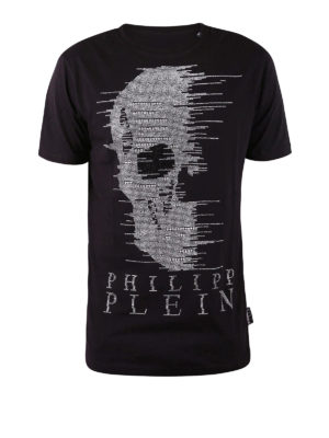 Philipp Plein: t-shirts - Ghost-S embellished T-shirt