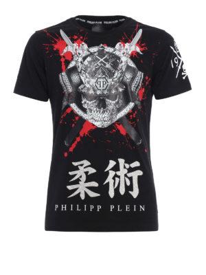 Philipp Plein: t-shirts - Hasu embellished T-shirt