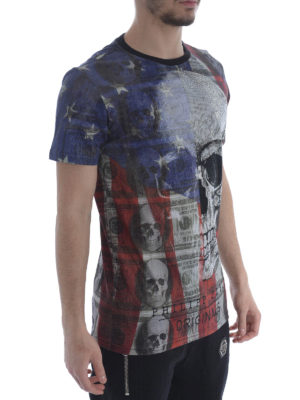 Philipp Plein: t-shirts online - All over printed T-shirt