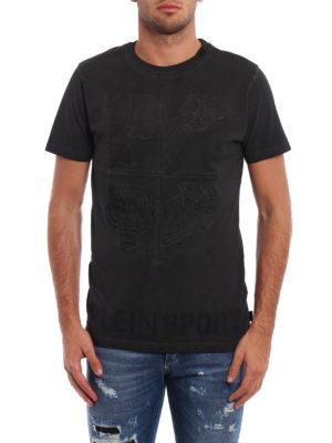 Philipp Plein: t-shirts online - Blue Rya Plein Sport Tee