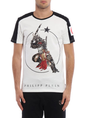 Philipp Plein: t-shirts online - Dave Tee with padded shoulders