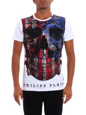 Philipp Plein: t-shirts online - Edition rhinestone embellished Tee