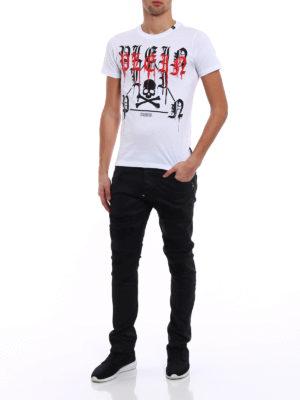 Philipp Plein: t-shirts online - Fancy white Tee