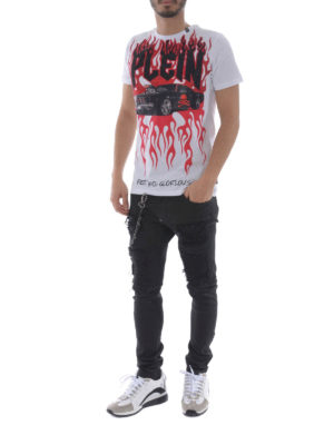 Philipp Plein: t-shirts online - Feel it T-shirt