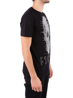 Philipp Plein: t-shirts online - Ghost-S embellished T-shirt