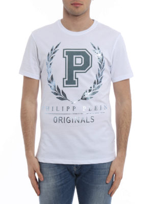 Philipp Plein: t-shirts online - Giant short sleeve T-shirt