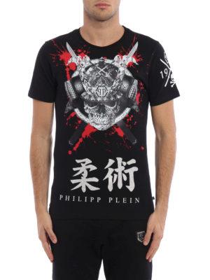 Philipp Plein: t-shirts online - Hasu embellished T-shirt