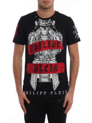 Philipp Plein: t-shirts online - Kami embellished T-shirt