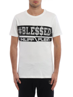 Philipp Plein: t-shirts online - Mara two-tone T-shirt