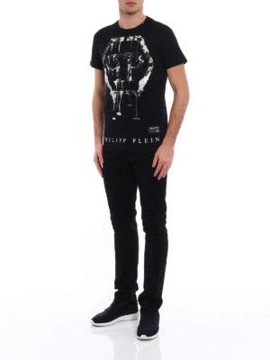 Philipp Plein: t-shirts online - Mind embellished T-shirt