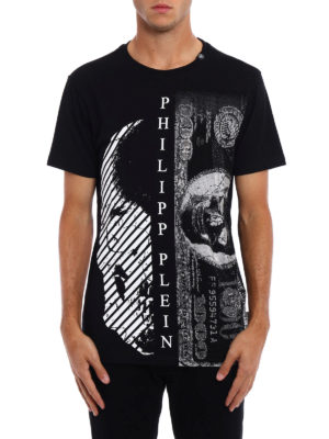 Philipp Plein: t-shirts online - Money embellished print T-shirt
