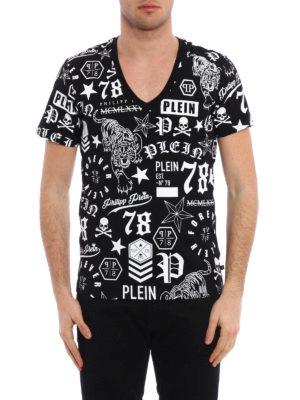 Philipp Plein: t-shirts online - My Skull printed T-shirt