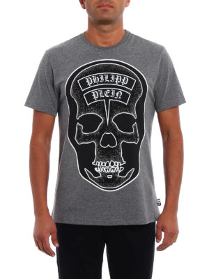 Philipp Plein: t-shirts online - Sata embellished Tee
