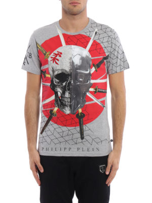 Philipp Plein: t-shirts online - Tai embellished T-shirt