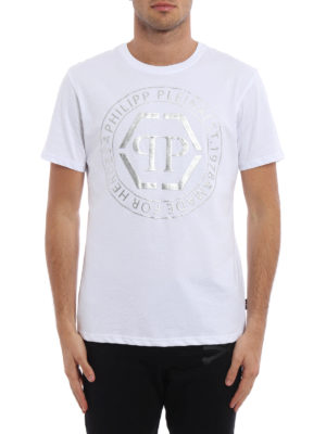 Philipp Plein: t-shirts online - Teruyo printed cotton T-shirt