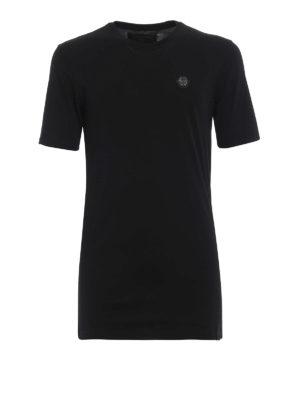 PHILIPP PLEIN: t-shirt - T-shirt nera Original Black Cut