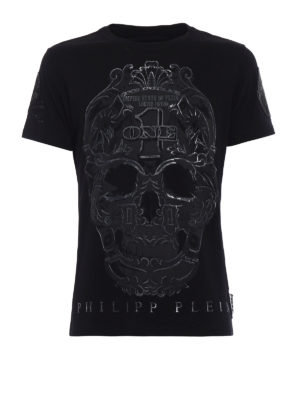 Philipp Plein: t-shirts - Play skull print T-shirt