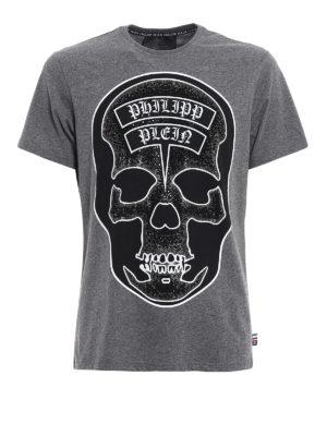 Philipp Plein: t-shirts - Sata embellished Tee