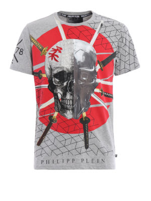 Philipp Plein: t-shirts - Tai embellished T-shirt
