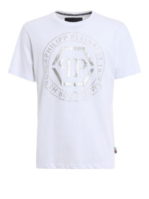 Philipp Plein: t-shirts - Teruyo printed cotton T-shirt