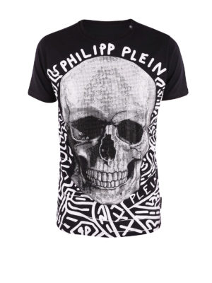 Philipp Plein: t-shirts - Timber-S embellished T-shirt