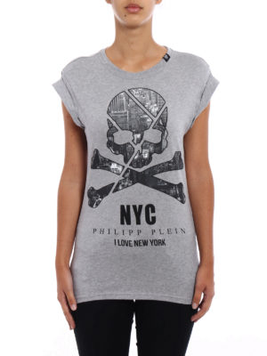 Philipp Plein: Tops & Tank tops online - York Man cotton slim T-shirt