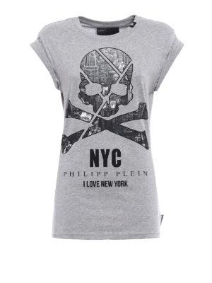 Philipp Plein: Tops & Tank tops - York Man cotton slim T-shirt
