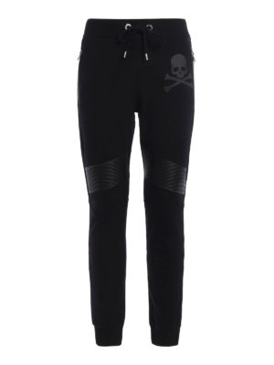 Philipp Plein: tracksuit bottoms - Ana printed cotton jogging pants
