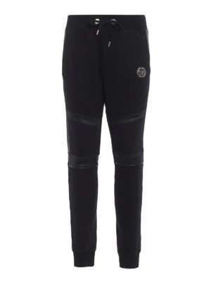Philipp Plein: tracksuit bottoms - Biggest Mistake cotton sweatpants
