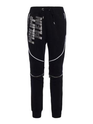 Philipp Plein: tracksuit bottoms - Bront Hotfix jogging trousers