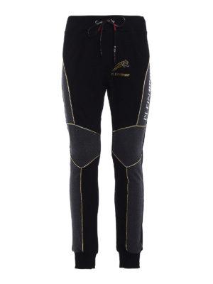 Philipp Plein: tracksuit bottoms - Find cotton jersey track pants