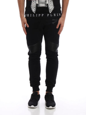 Philipp Plein: tracksuit bottoms online - Ana printed cotton jogging pants