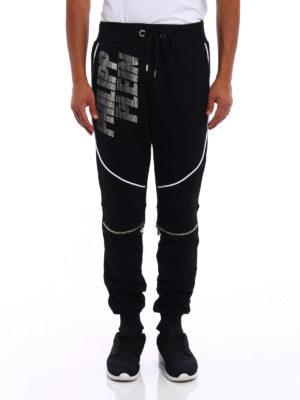 Philipp Plein: tracksuit bottoms online - Bront Hotfix jogging trousers