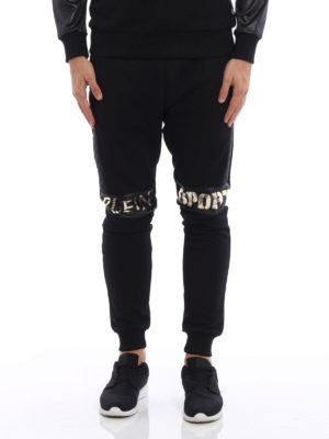 Philipp Plein: tracksuit bottoms online - Gold Fat City sweat pants