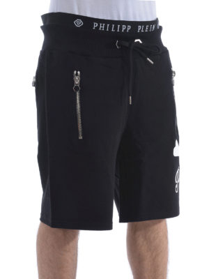 Philipp Plein: tracksuit bottoms online - Short track pants