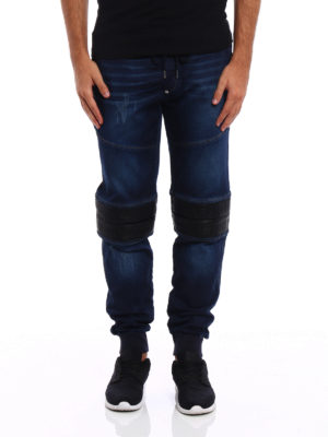 Philipp Plein: tracksuit bottoms online - Slim Shady Chill Fit Nets pants