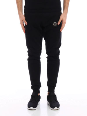 Philipp Plein: tracksuit bottoms online - Term cotton tracksuit bottom