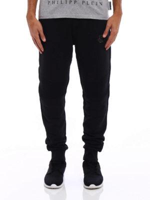Philipp Plein: tracksuit bottoms online - Tonic fleece tracksuit bottoms