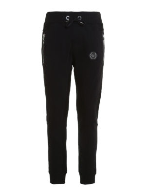 Philipp Plein: tracksuit bottoms - Term cotton tracksuit bottom
